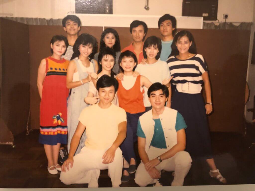當年吳瑞庭誤打誤撞參加藝員進修班,與黎耀祥、周海媚同屆。