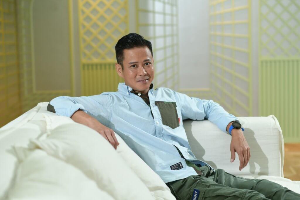 湯俊明被途人形容兜踎,令他決心想重返娛樂圈。