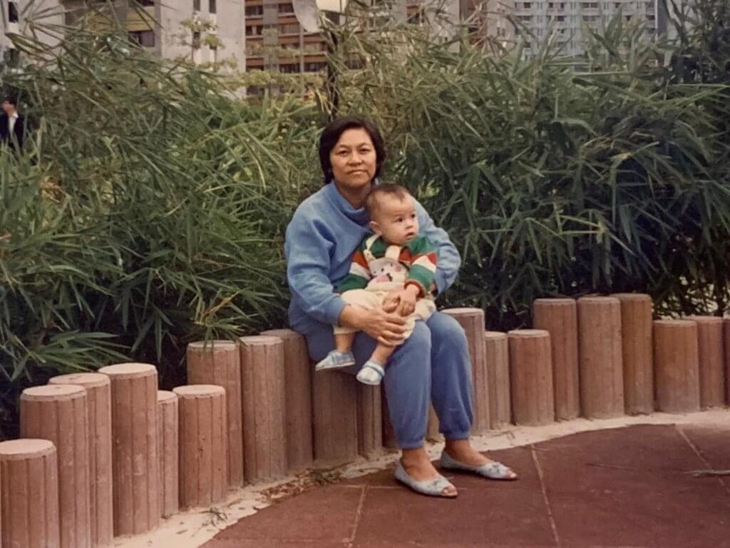 On仔感謝母親在他小時候帶給他很多第一次