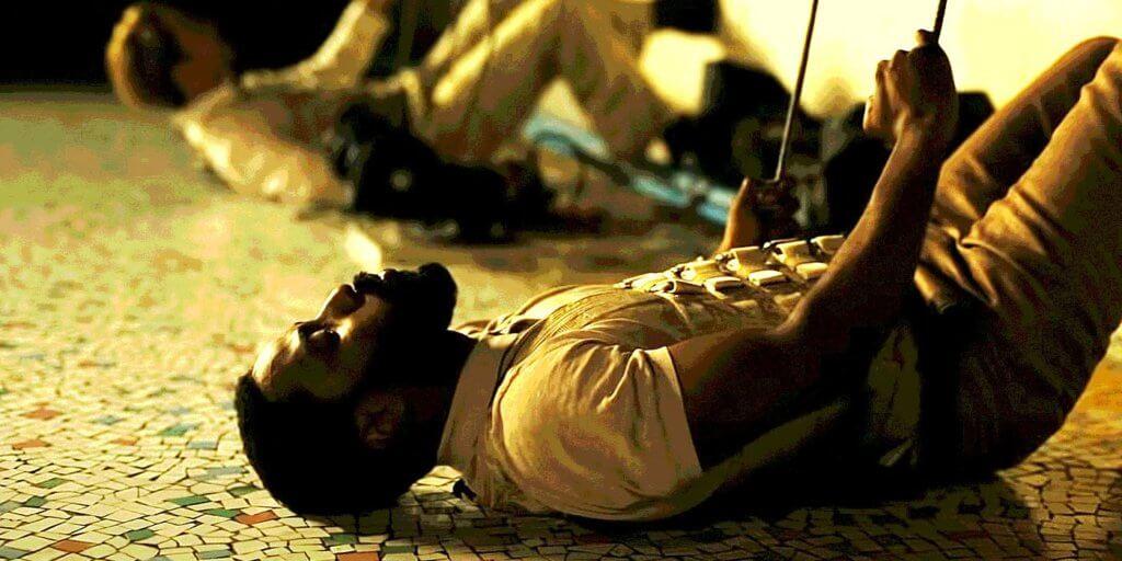 尊大衛表示在孟買拍的一場被彈上高樓的戲是最困難