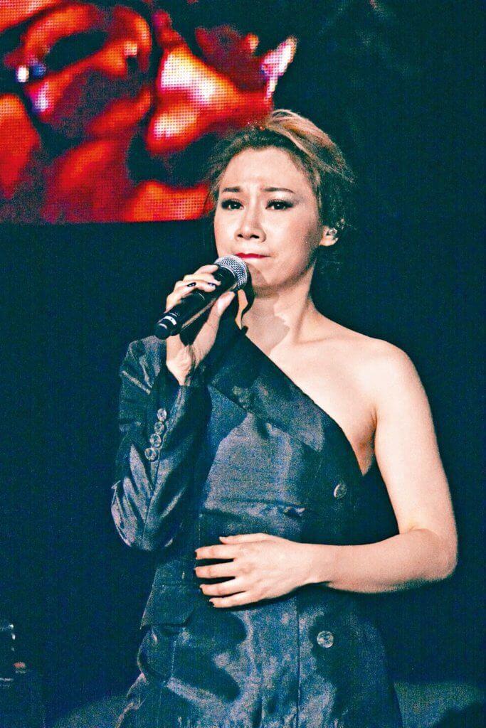 彭家麗2017年開個人演唱會,完成三個未了心願之一。