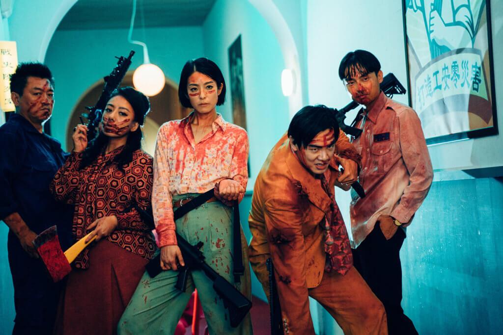 賴雅妍每天拍戲要學習好好跟血漿相處,十分艱辛。