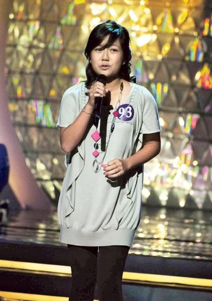 何雁詩○九年參加第一屆《超級巨聲》,那時她十六歲。