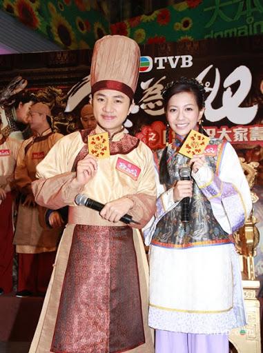 何雁詩與王祖藍在古裝劇《食為奴》中由情侶演至夫婦,佔戲不少。