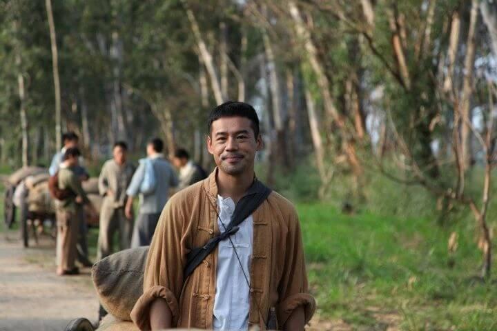 一二年拍《天梯》飾演藥農,是陳豪的多年好友。