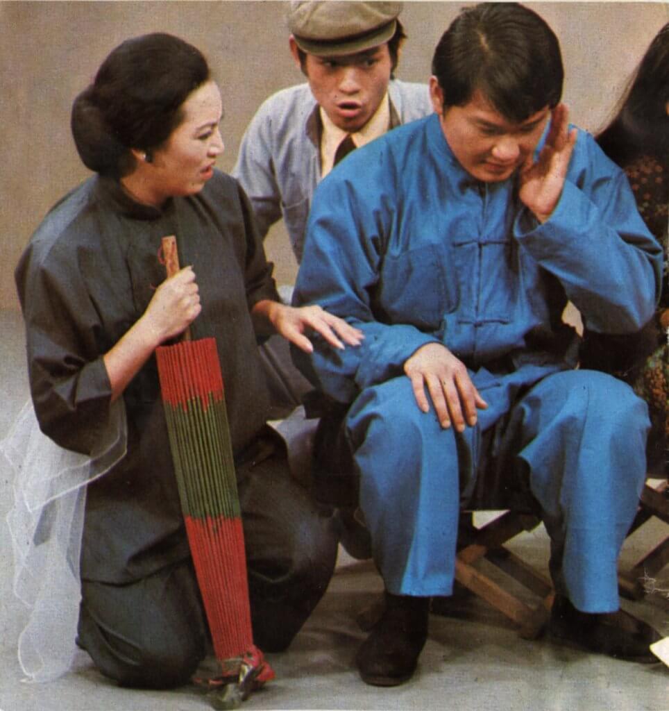 李香琴、譚炳文在《大鄕里》中的炳嫂和炳門,深受歡眾歡迎。