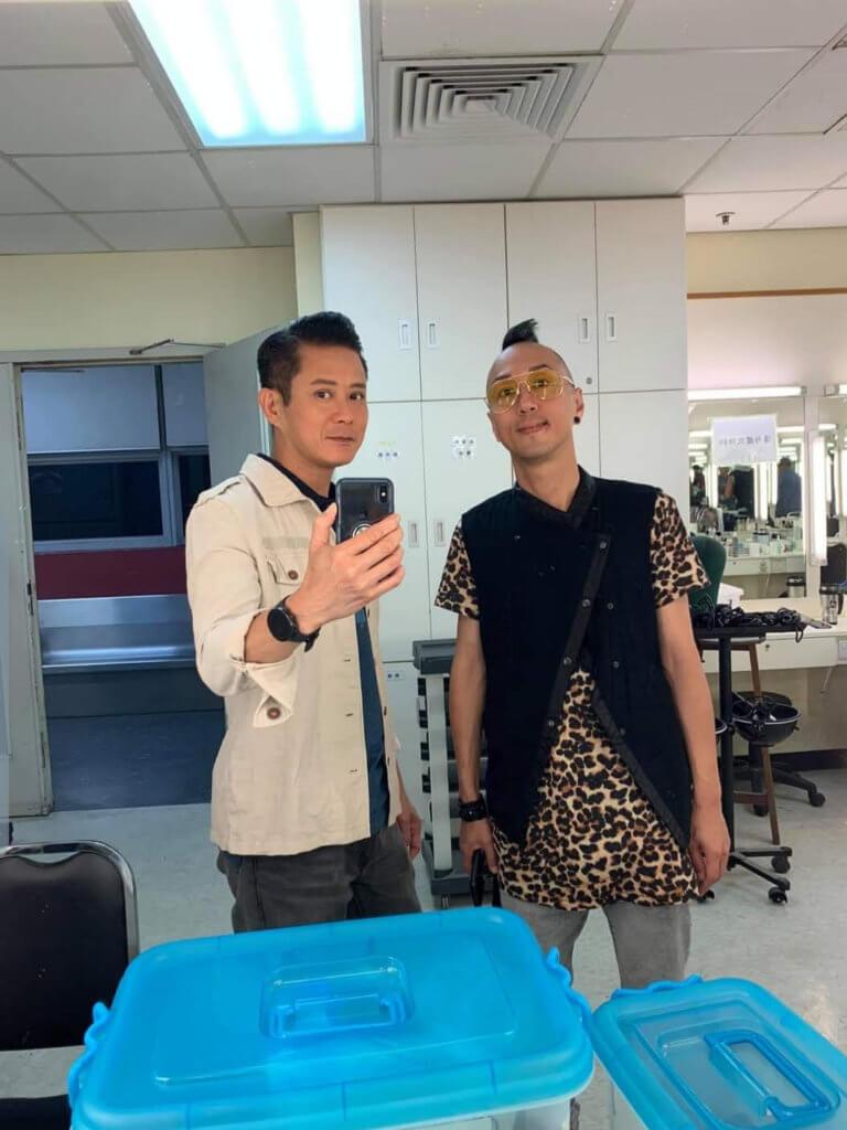 湯俊明與戴耀明同是第六期訓練班,相識多年。