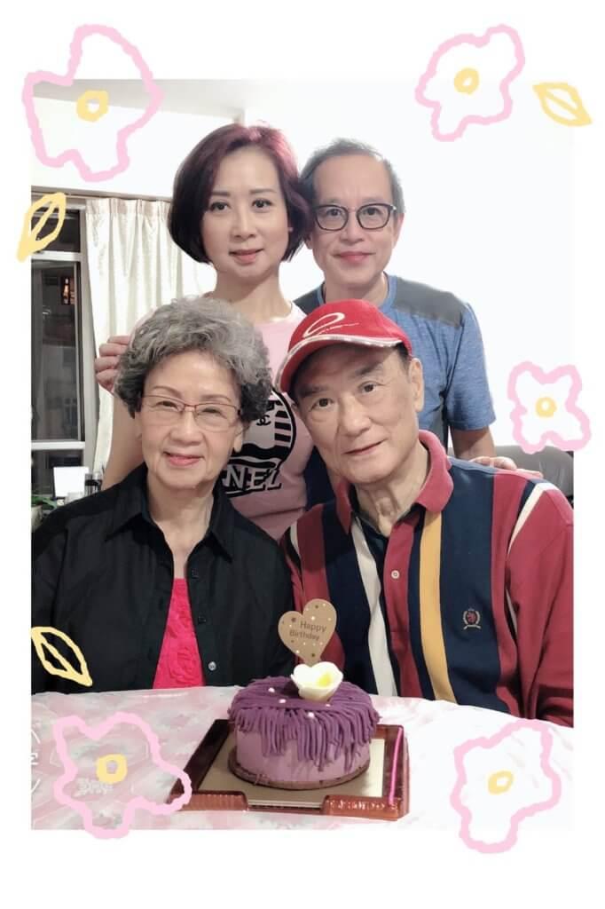 炳哥和炳嫂二十多歲結婚相伴到老