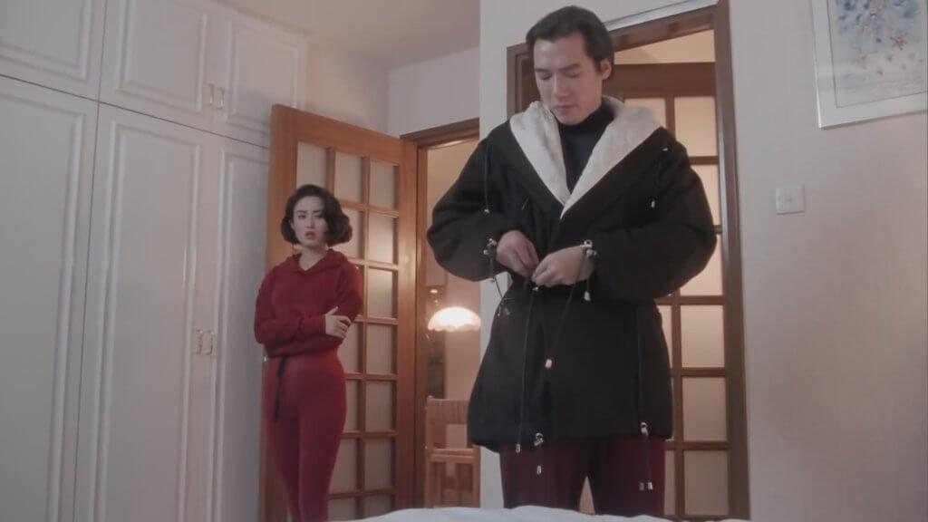單立文在電影《賭俠》飾演侯賽因,其中有句對白「想偷我雞?」十分經典。
