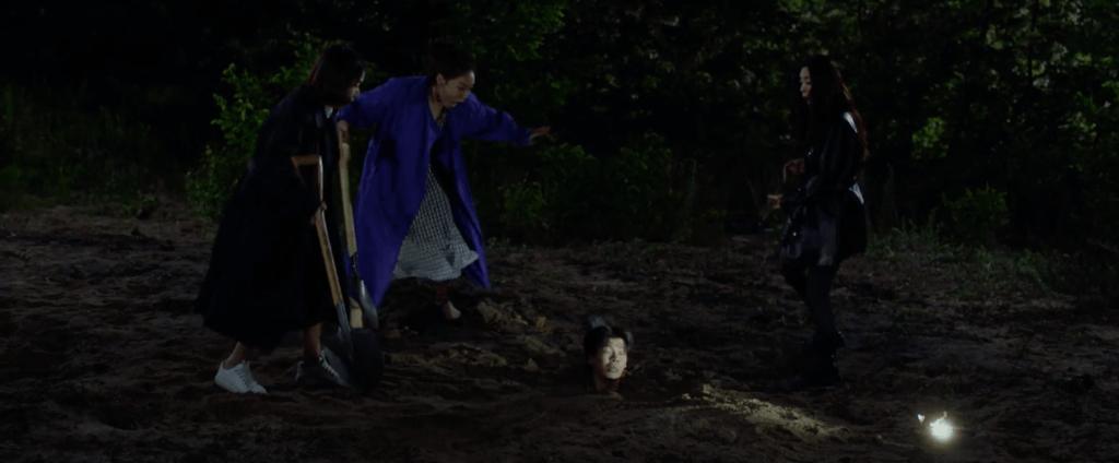 李貞賢得悉丈夫出軌,心有不甘,策劃報復大計,跟好友殺夫兼埋屍,可惜老公是一個不死外星人。