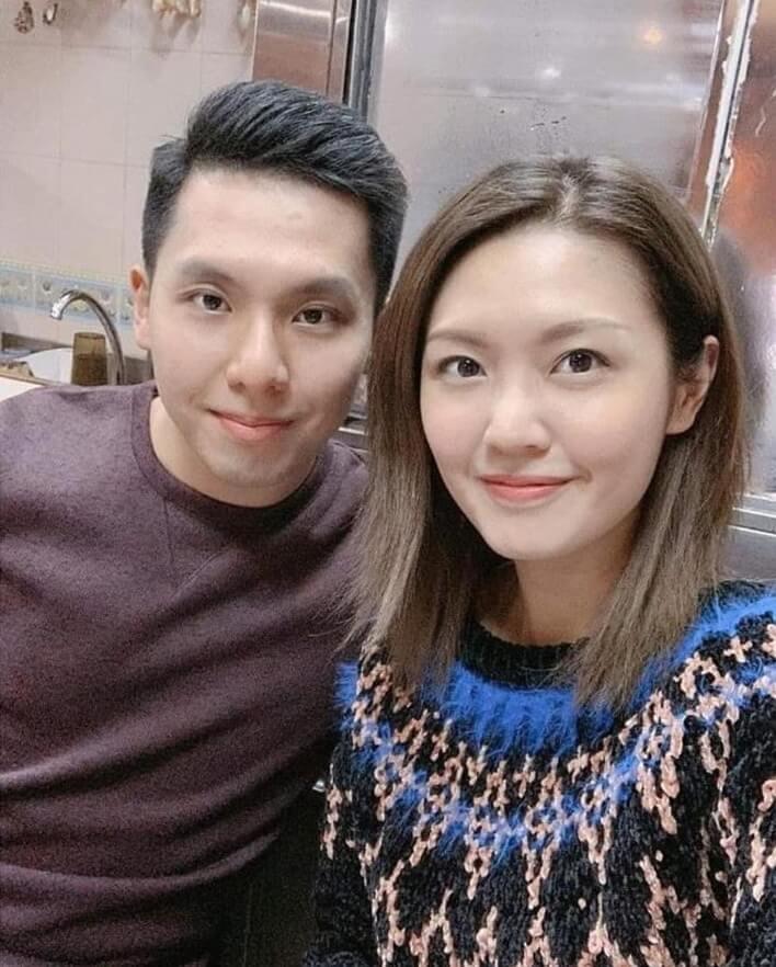 陳庭欣與表弟