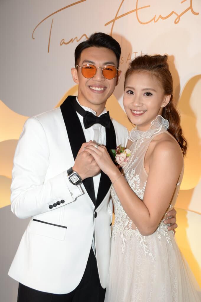 林師傑與歐陽巧瑩一八年結婚,他現在最大心願是製造愛情結晶品。