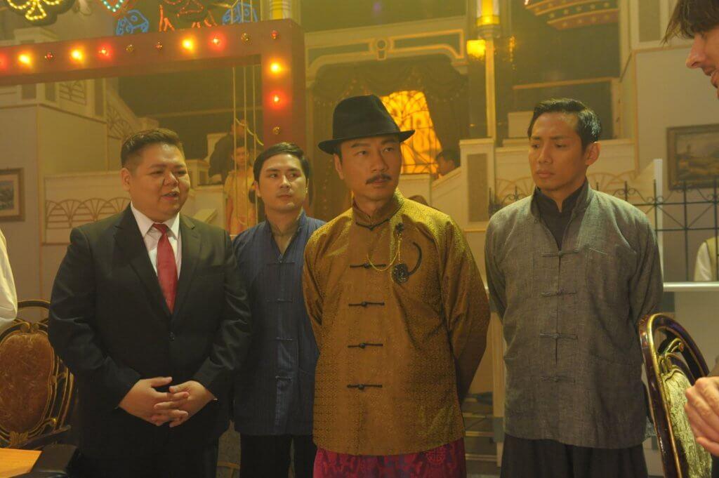 李泳豪在劇集《梟雄》飾演的趙忠,在抗戰結束後被處死。