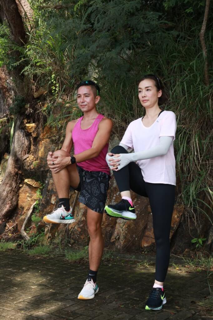 長跑前的熱身運動可減低受傷機會