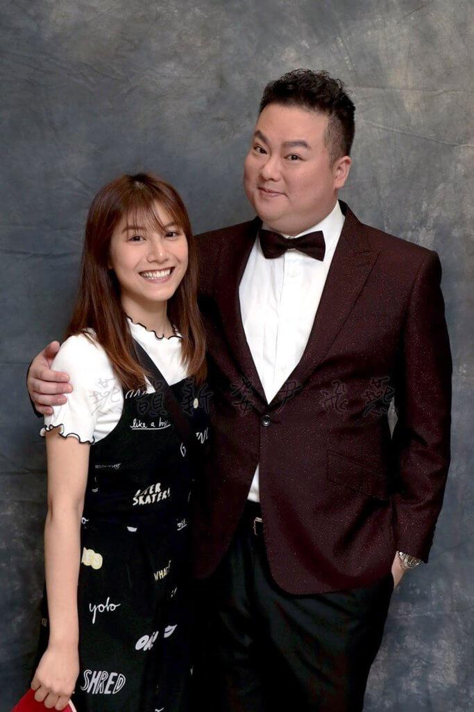 阮德鏘一八年與曾被稱為「江若琳師妹」的林司敏結婚