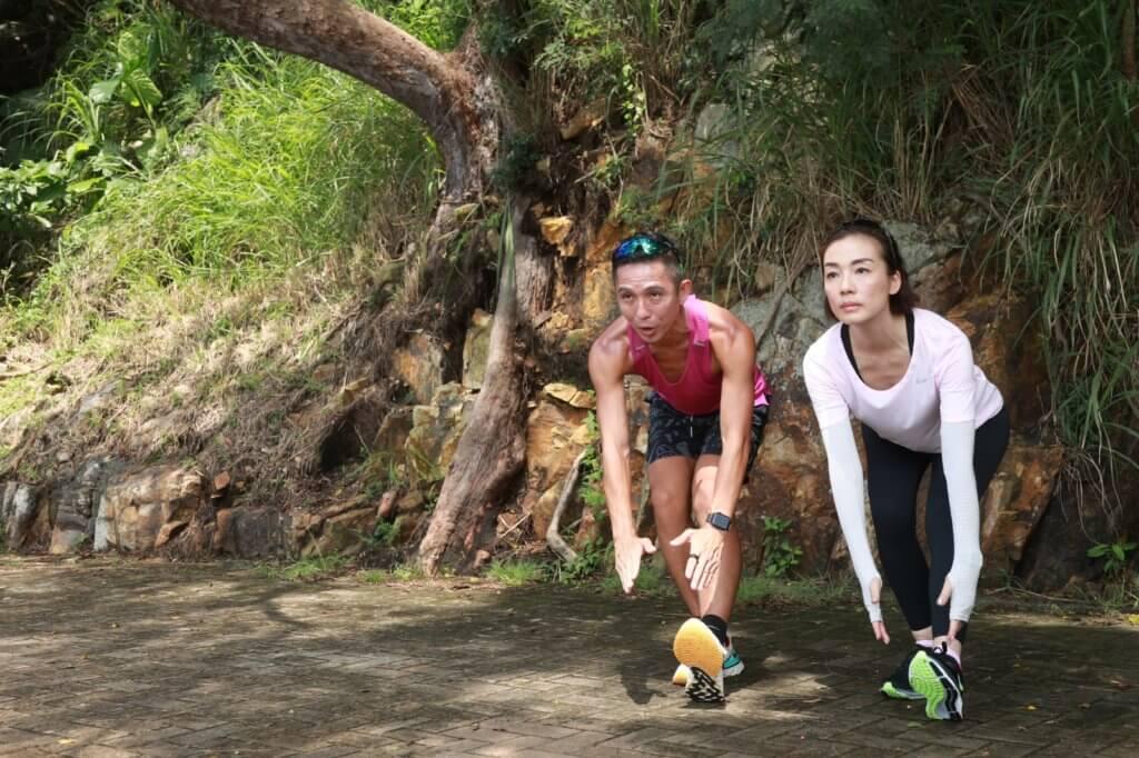 蘇教練的鼓勵令美儀愈跑愈有興趣,不時推動身邊好友一齊長跑。