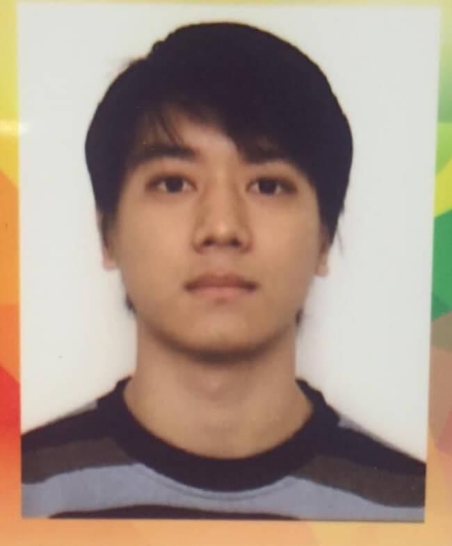 讀訓練班時期的黎諾懿,他是○四年那一屆的學員,同學有胡定欣。