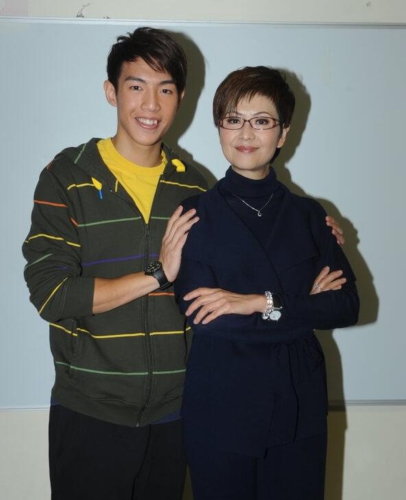 林師傑在第一部劇《依家有喜》中演廖安麗的兒子