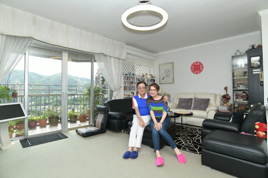 新哥和淑梅姐姐三十多年前已未雨綢繆,打造退休後的安逸之家。