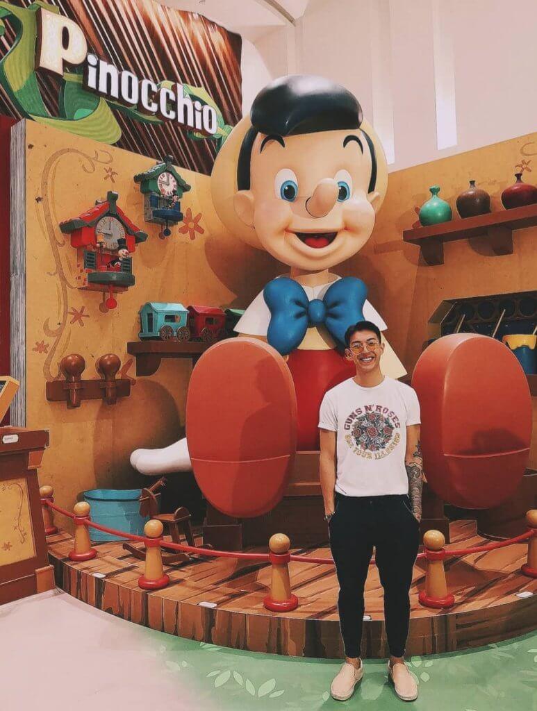 《愛‧回家》木偶哥一角和他的歌令林師傑受歡迎,他對小木偶特別有感情。