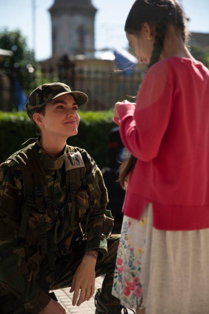 女主角為保護舊情人及其子女,奮不顧身。