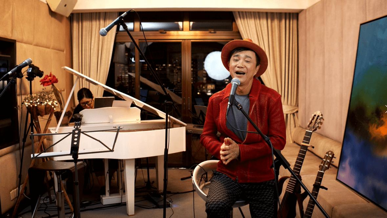 為了有靚聲效果,Albert特別將錄音室的九成器材搬至舉行演唱會的工作室。