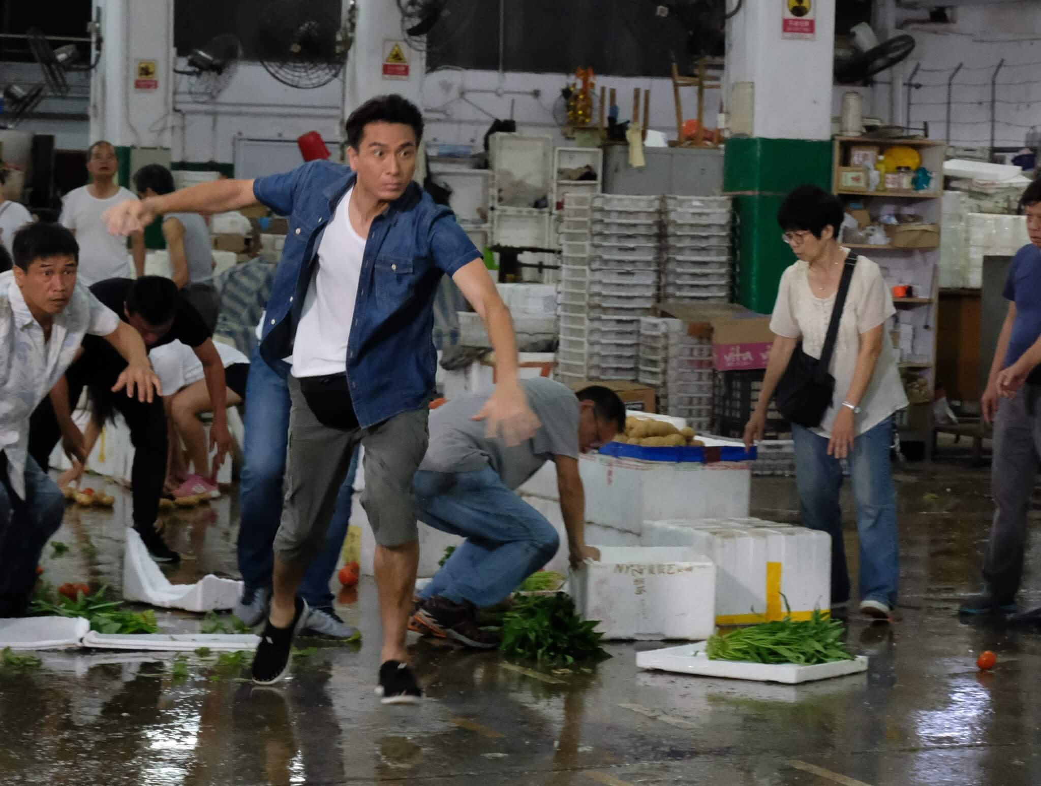 馬明表示很喜歡劇集《C9特工》中飾演賣菜佬,貼地的角色是他的愛。