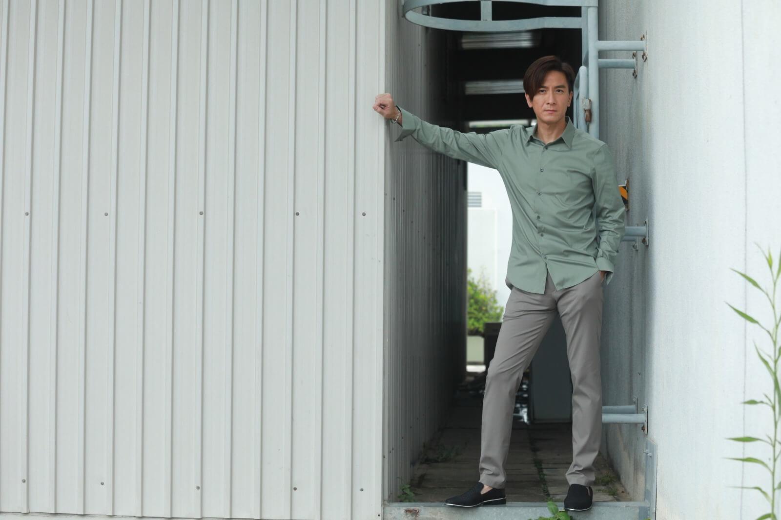 馬明表示作為一位演員,覺得需要勇於嘗試,挑戰不同的角色。