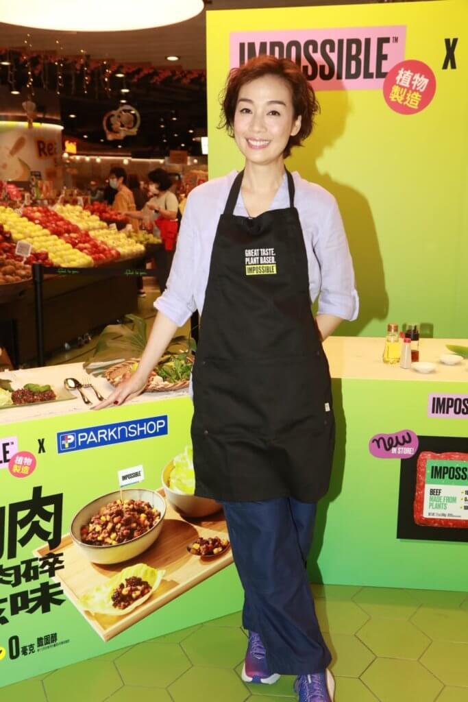 江美儀再拍烹飪節目教煮素菜