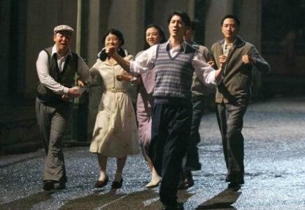 阮德鏘與王力宏等在《色,戒》中演同學兼間諜