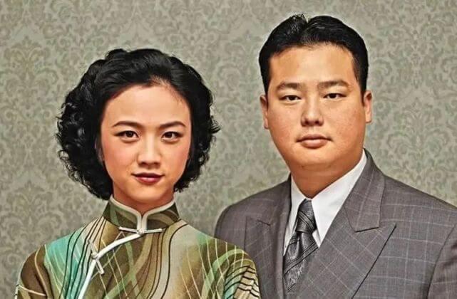 阮德鏘與湯唯在李安電影《色,戒》中做特務裝成夫婦,這是戲中的合照。