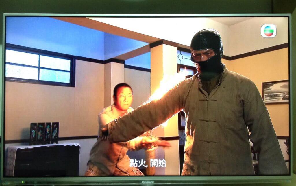 黃煒溏《特技人》飾演軍火茂,劇中的火焰場面都是由他操刀。