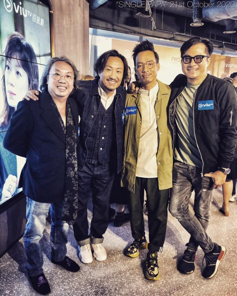 邵仲衡與多年沒拍劇的鄭中基在新劇中合作,二人早前出席宣傳活動。