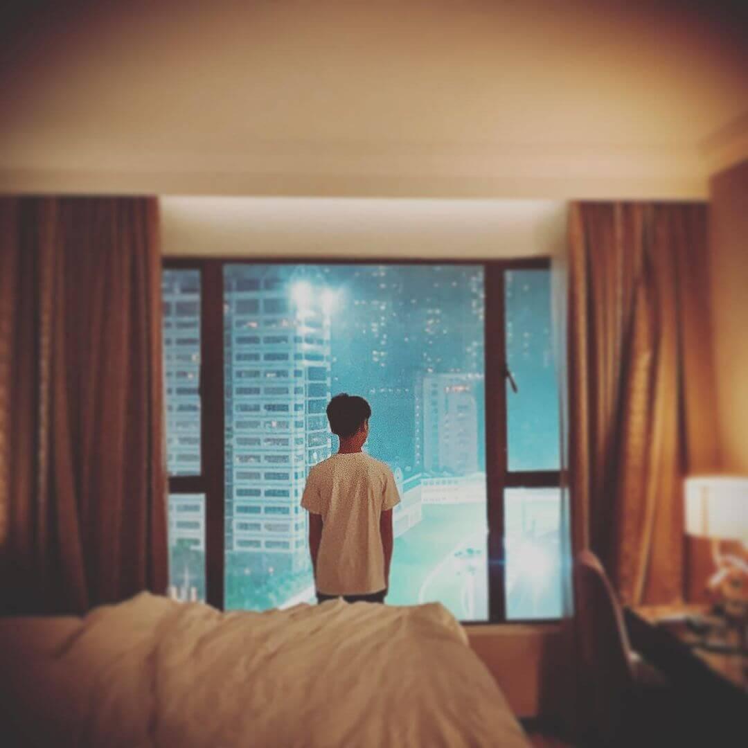 徐朗在酒店已完成 14天強制隔離