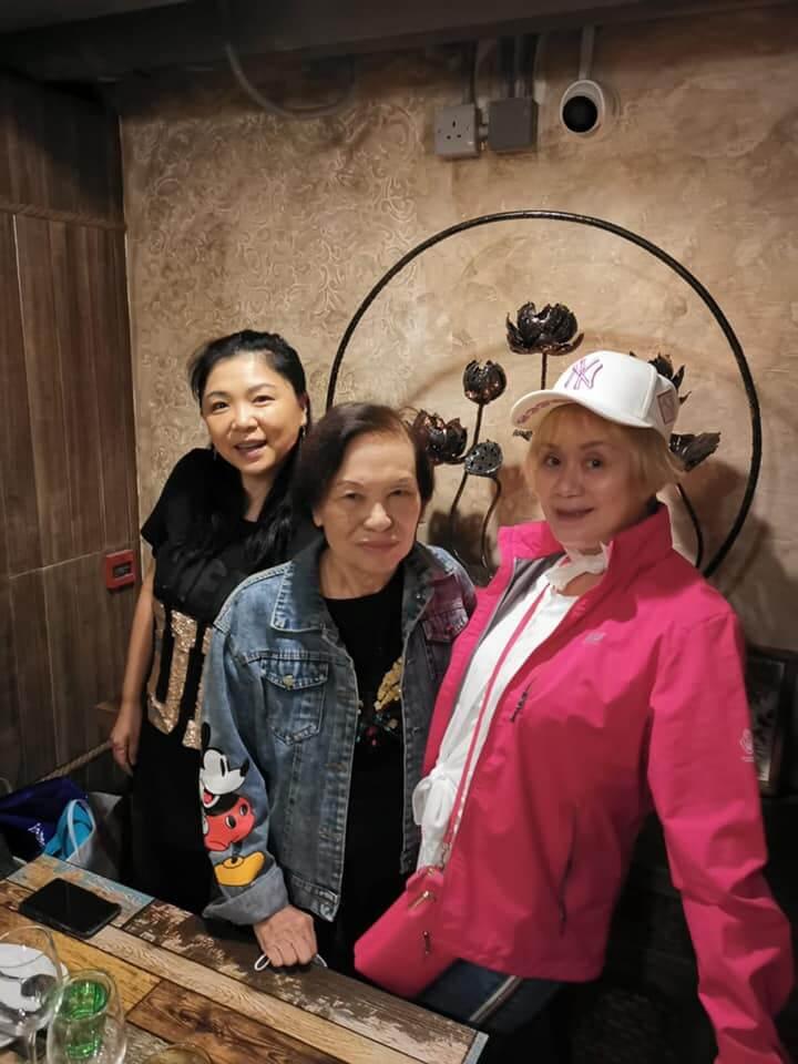 余慕蓮入院前幾日,曾參加沙姐林建明的飯聚。