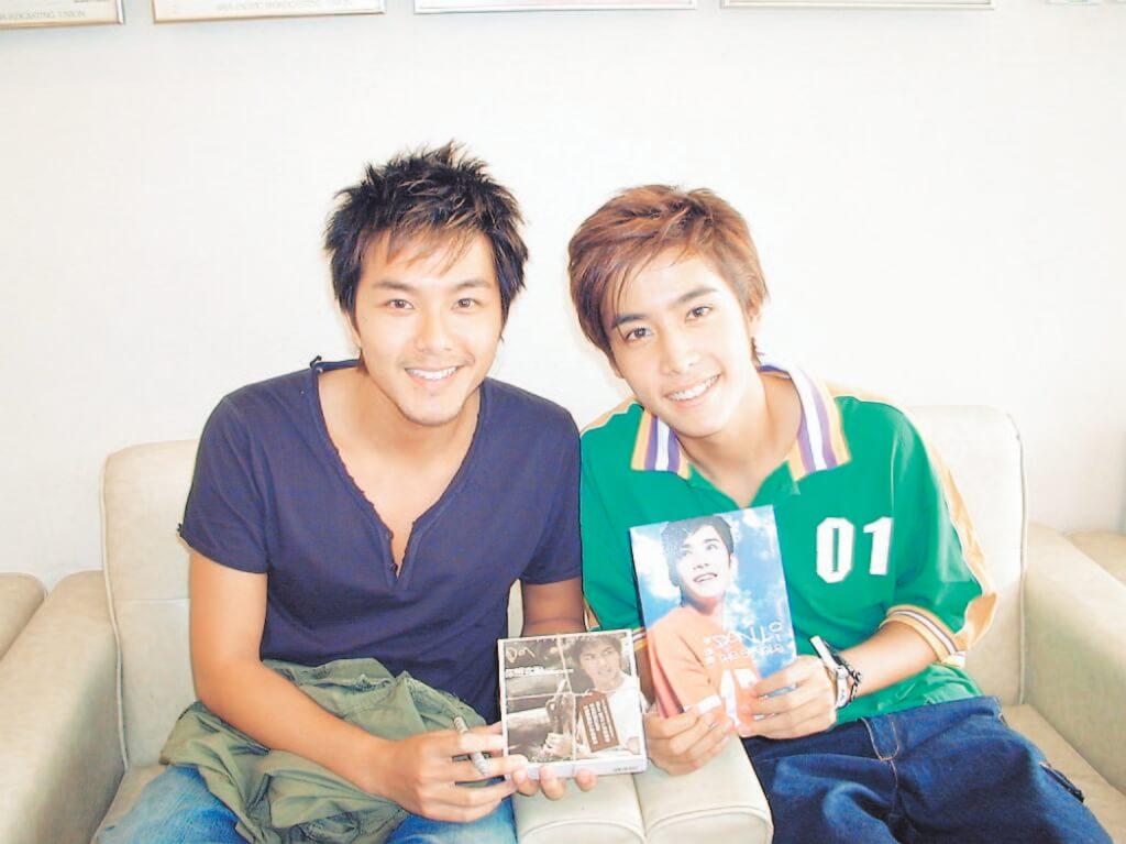 李日朗和蕭正楠曾是樂壇新人,同期推出唱片。