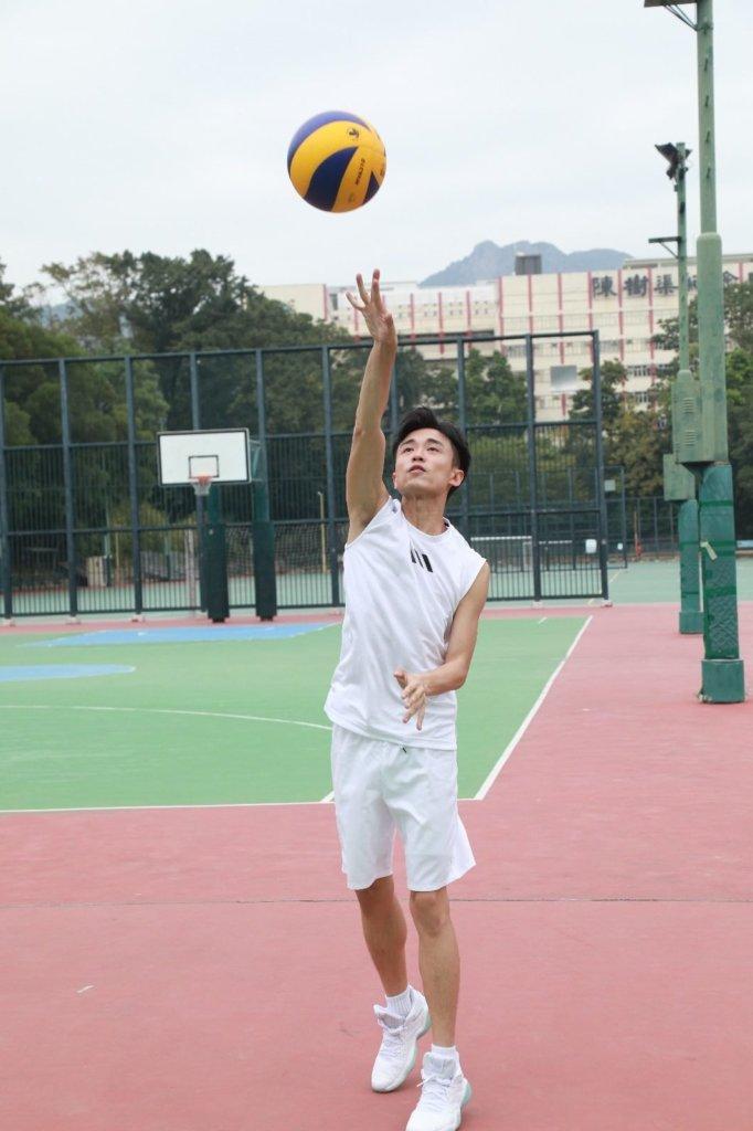 排球講求靈活性,不單止有力量或跑得快。