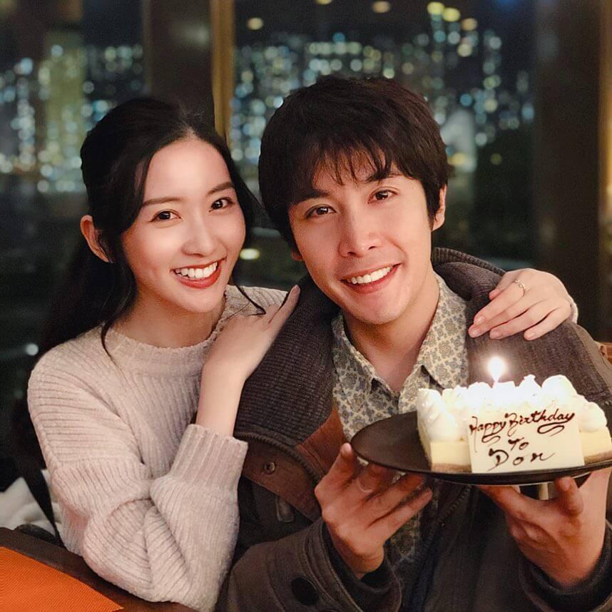 李日朗和女友在節日和生日時都有貼出照片放閃