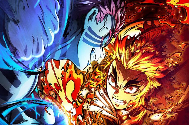 片中「炎柱」煉獄杏壽郎與最強大鬼對手「上弦之參」猗窩座的對決震撼慘烈,感人催淚。