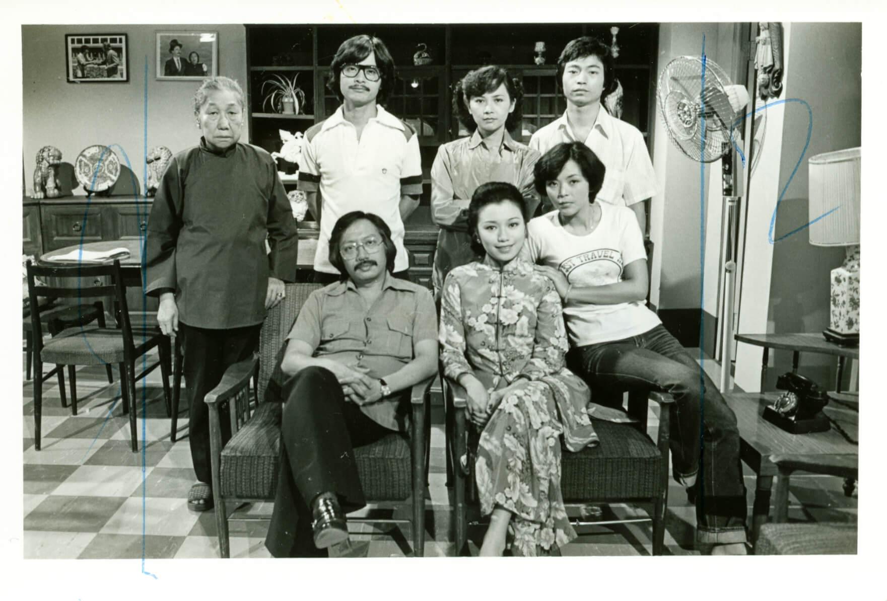 七九年拍處境劇《家在香港》,合作的藝員包括有陳玉蓮、葉德嫻、廖偉雄、羅志強、余子明及陳立品。
