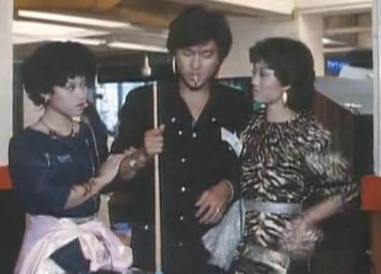 陳安瑩與劉德華在劇集《江湖再見》演飛仔飛女