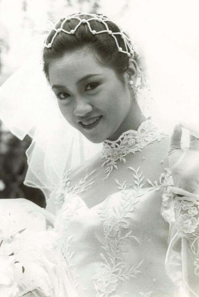 陳安瑩也拍過婚紗戲,但現實中的她不太渴望結婚。
