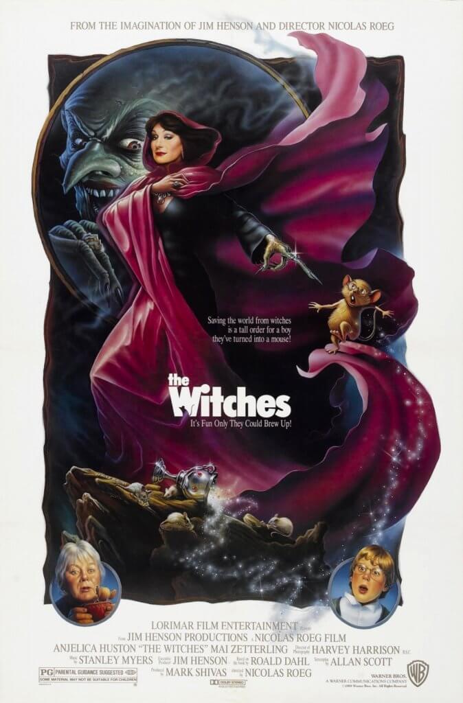 安芝莉嘉侯絲頓九十年代主演的《The Witches》