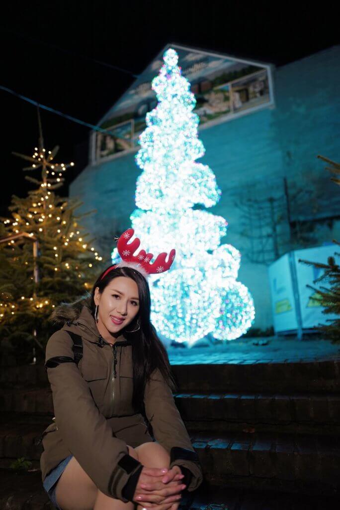 位於荷蘭的聖誕市集,整個小鎮充滿濃厚的聖誕氣氛。