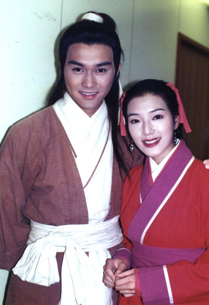 九四年版本的《射鵰英雄傳》,張智霖演郭靖,關寶慧演穆念慈。