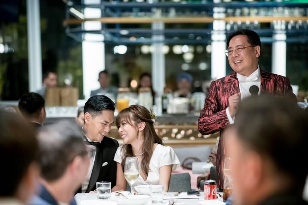 鄭俊弘精心安排婚禮,令何雁詩成為最幸福的女人。