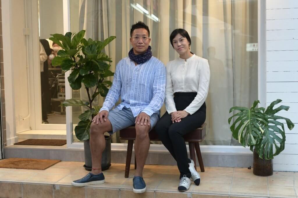 「明睿基金會」兩位創立人李喆和Allison