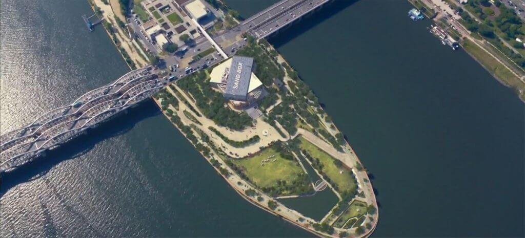 「鷺得島」去年變身成為文創園區後正式開放