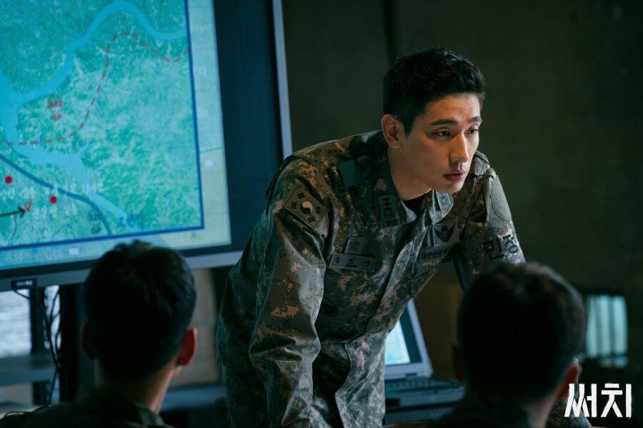 尹博飾演「北極星任務」的隊長,本來要受軍事法庭審訊,不過因為他是出色的軍事人才,被安排到搜索行動,以功抵過。