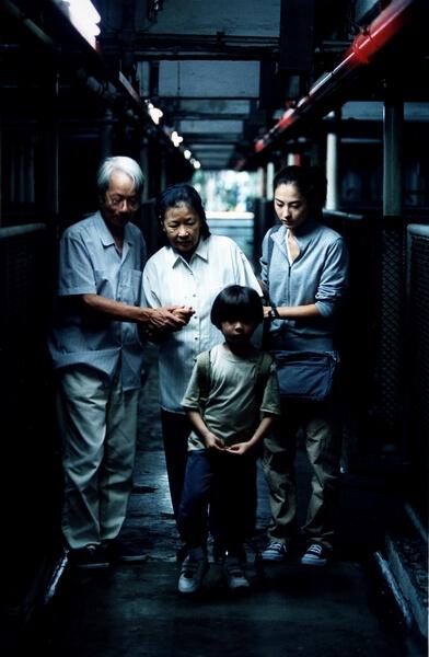 彭美嫦在電影《忘不了》飾演古天樂母親,兒子交通意外身故,留下她及兒子的未婚妻張栢芝及孫兒原島大地。